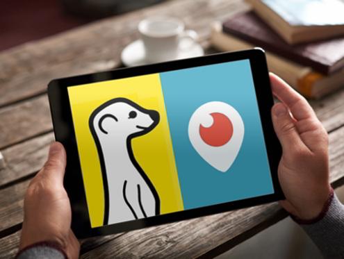 Periscope o Meerkat para marketing digital