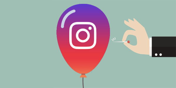 Instagram elimina followers a cuentas infladas